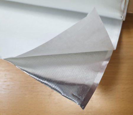 фольга алюминиевая самоклеющаяся